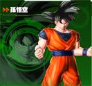 Goku XV2 Character Scan
