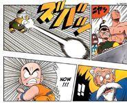 Chiaotzu's super dodon blast