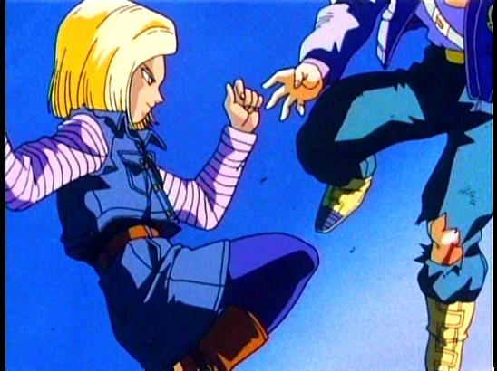 File:Android 18 kicks Trunks.jpg
