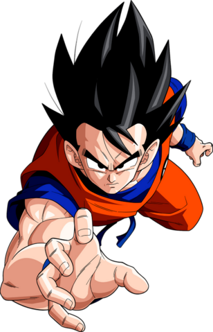 File:Render Dragon Ball z Goku.png