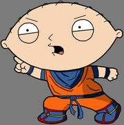 Dragonball Stewie by The Z Fighters