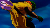 Goku rams through Slug