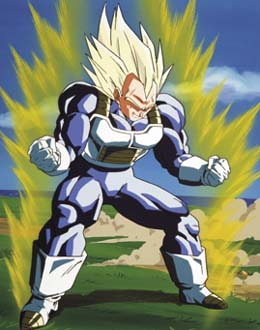 Future Vegeta ASSJ Vegeta  ASSJ Trunks