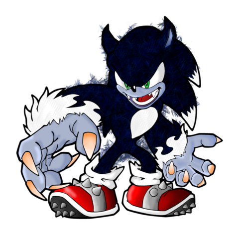File:Sonic the werehog by ssbralian-d34tb2u.png