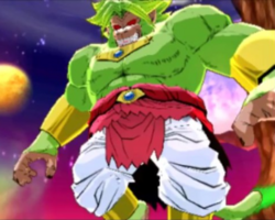 Emerald Great Ape Broly fusions