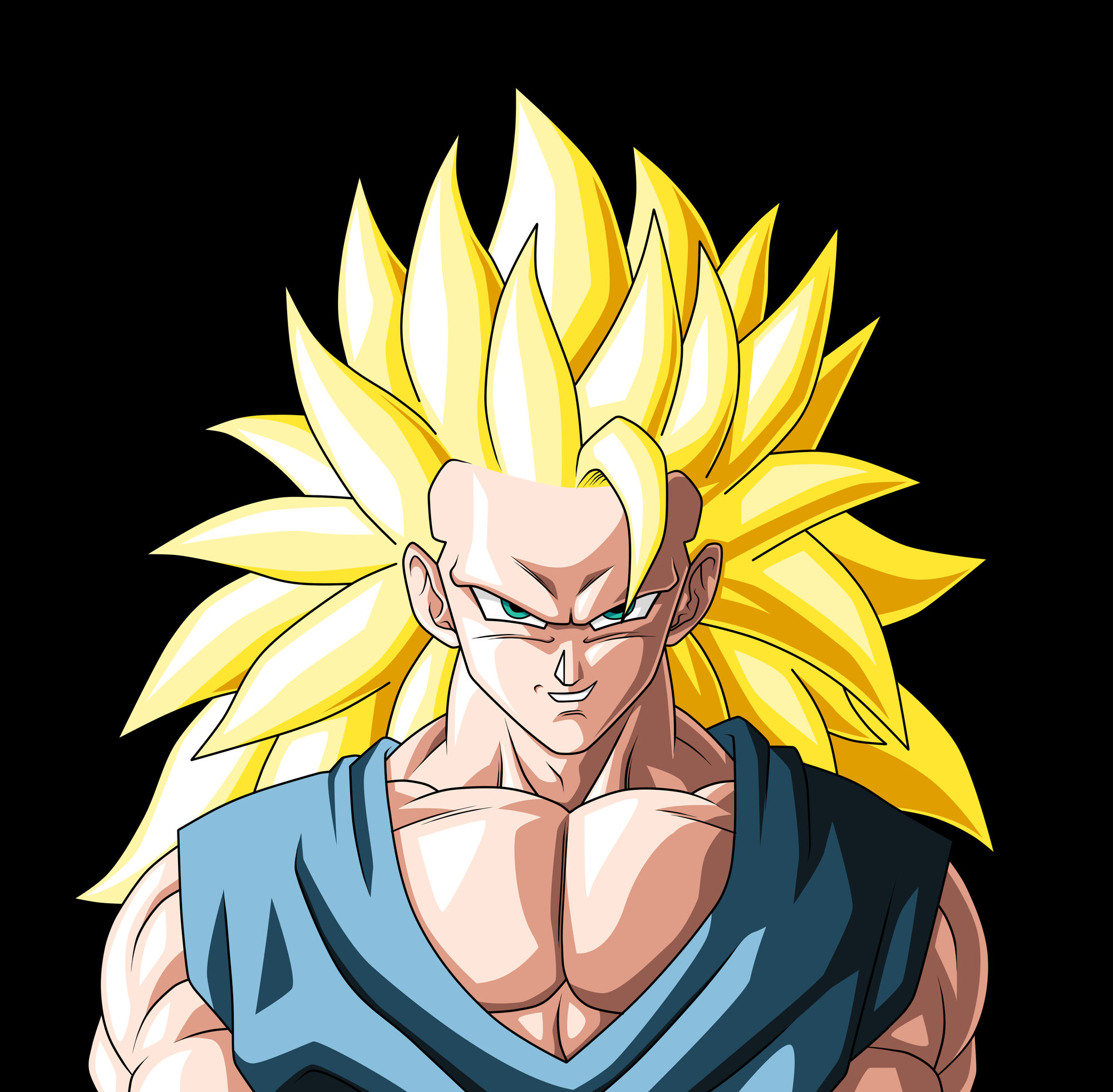 Full power super saiyan 3 dragonball fanon wiki fandom - Goku 5 super saiyan ...