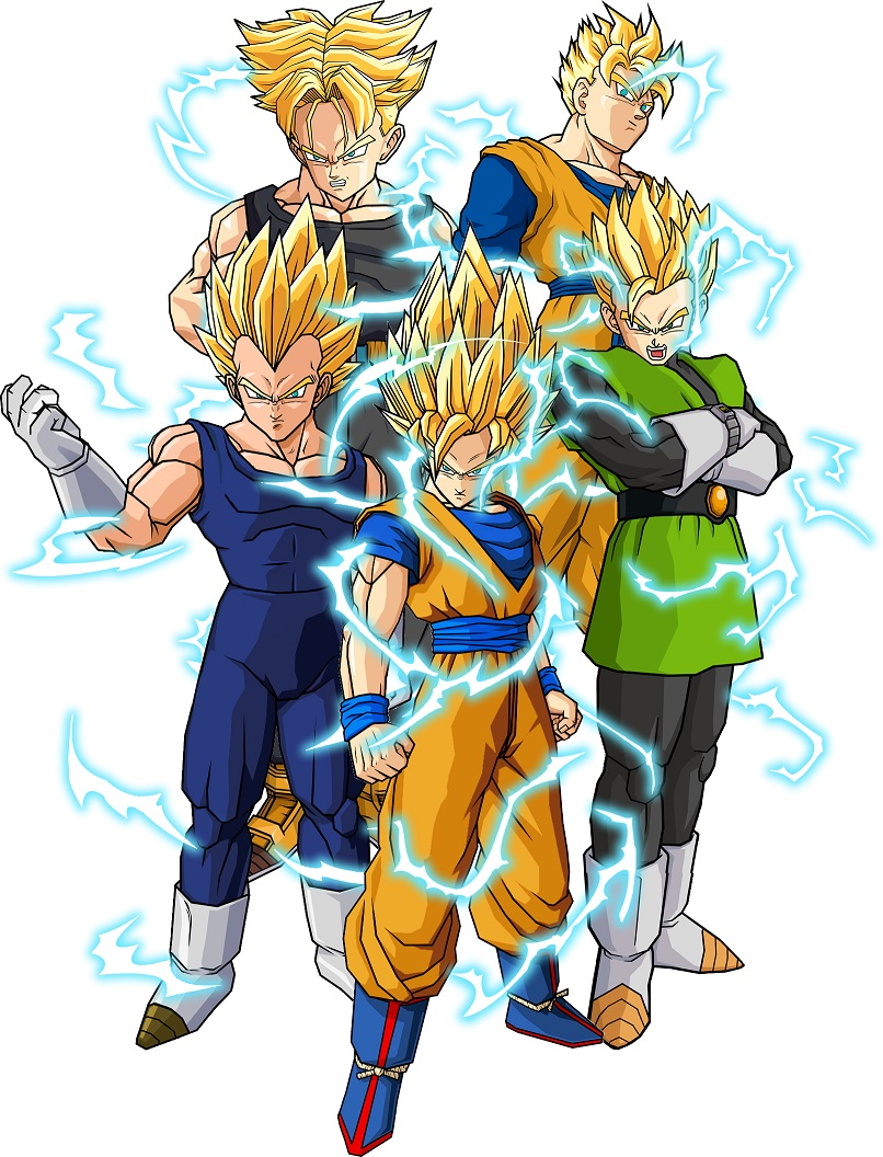 Super saiyan 2 xz dragonball fanon wiki fandom powered by wikia - Super sayen 10 ...