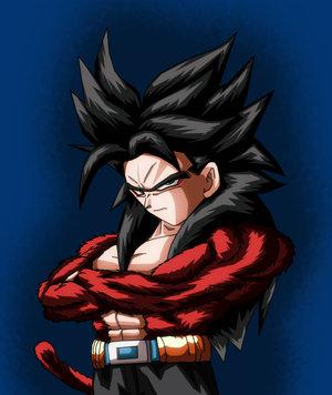 Image - Super Saiyan 4 Gotenks.jpg | Ultra Dragon Ball Wiki ...