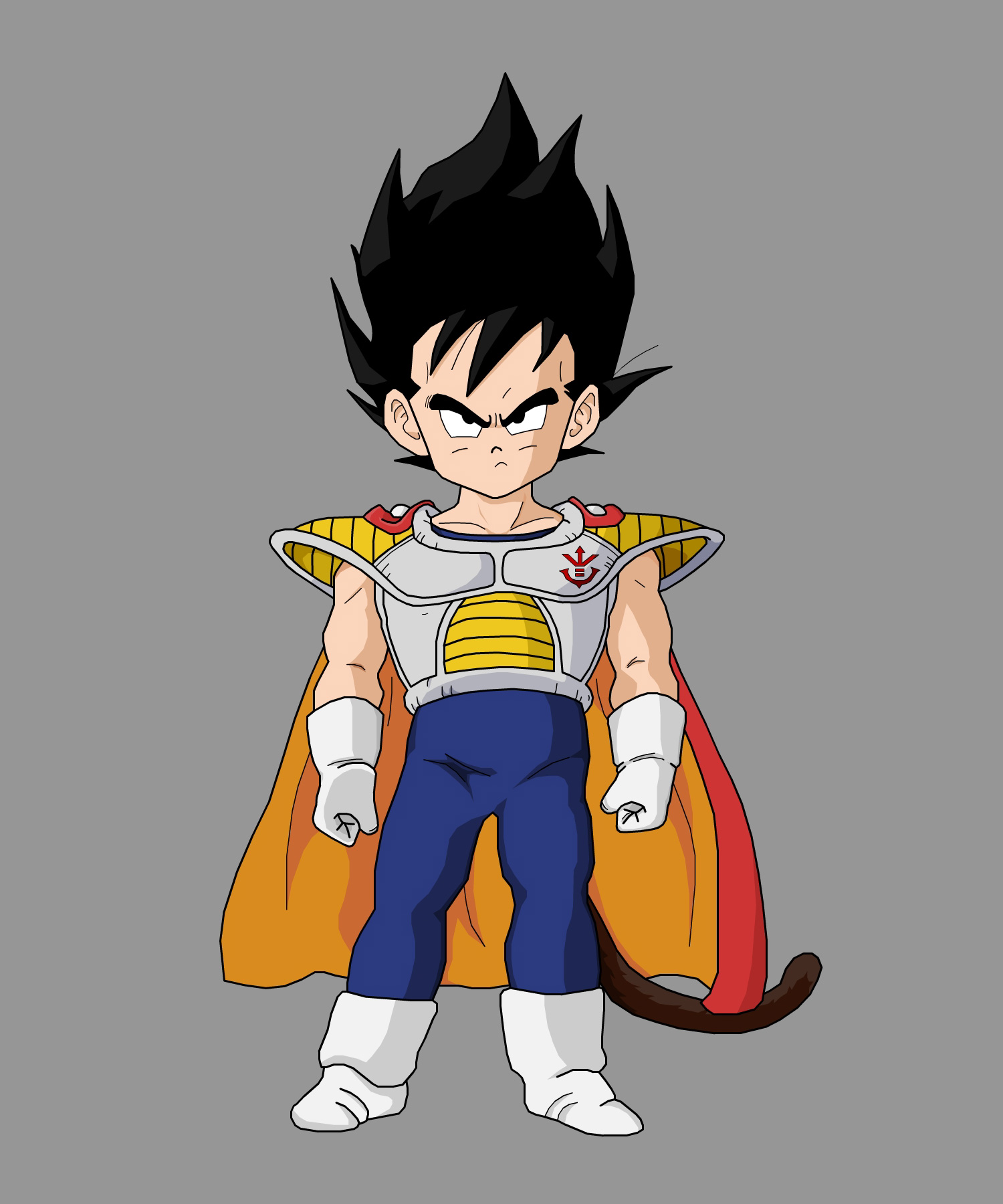 King Vegeta And Prince Vegeta Prince Vegeta in The Story