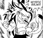Mystic Super Saiyan 5 Bra