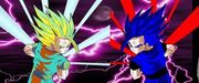 Evil gohan vs gohan lightning by narutofan1166-1-