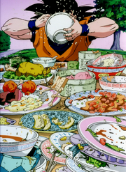 GokuEating