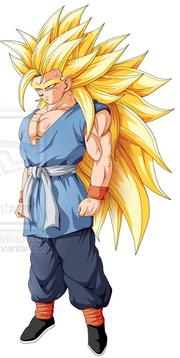 True super saiyan goku 1