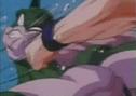 Goku hits arbee