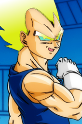 Shining Super Saiyan Vegeta