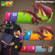 DCW BM Giant Wings Dragon