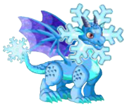 Snowflake Dragon 2