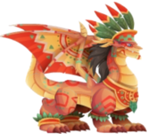 Aztec Warrior Dragon 3