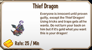 Thief dragonshop