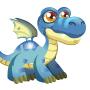 Brontosaurus Dragon m1