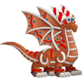 Gingerbread Dragon 3