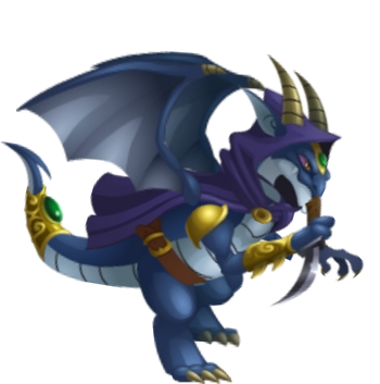 Double Dark Dragon
