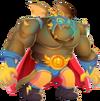 Wrestler Dragon 3