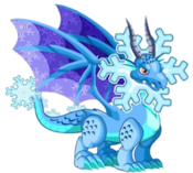 Snowflake Dragon 3