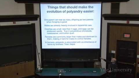 34. Mating Systems and Parental Care