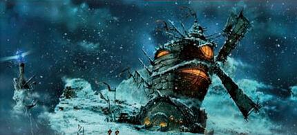 The Inn. Winter.