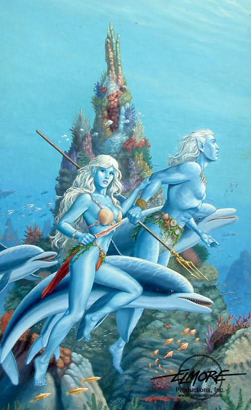 CM Sea elf by Lunareth on DeviantArt
