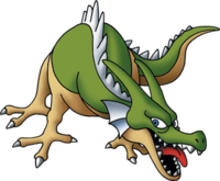 DQMJ2 - Green dragon