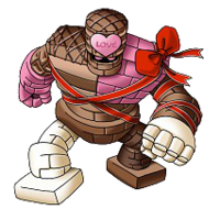 DQX - Chocolate golem