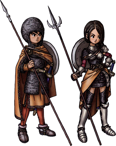 dragon quest 9 comment avoir le paladin