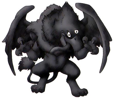 File:DQVIII - Dark gryphon.png
