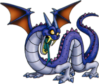 DQVII3DS - Freezing wingwyrm