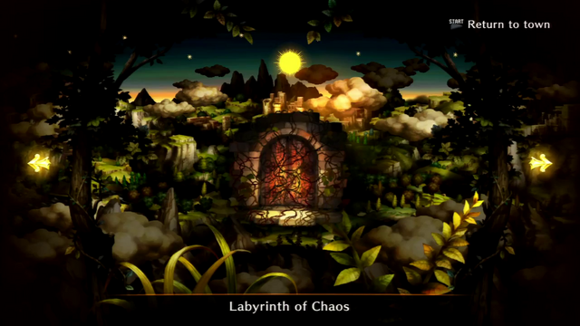 Labyrinth of Chaos selection screen