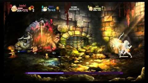 Dragon's Crown Minotaur in under 2 minutes