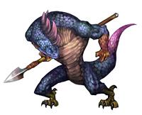 Lizardman(blue)