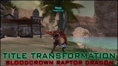 Dragon's Prophet 25 Titles Transformation