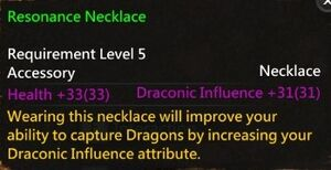 Resonance Necklace Info