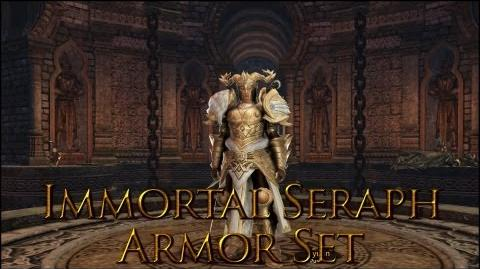 Dragon's Prophet Immortal Seraph Armor Set Male