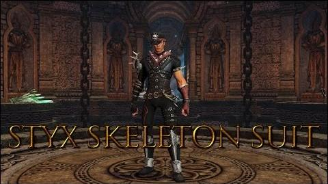 Dragon's Prophet Styx Skeleton Suit