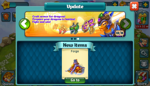 Armor Forge Update