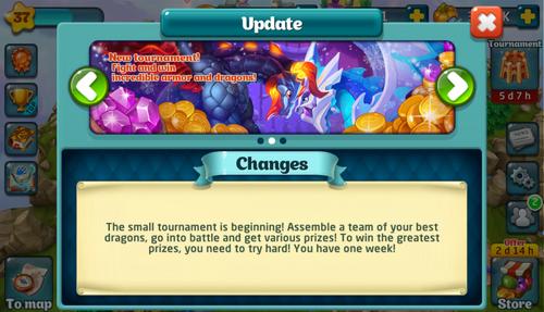 Tournament 132 Update