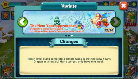 New Years Dragon Update