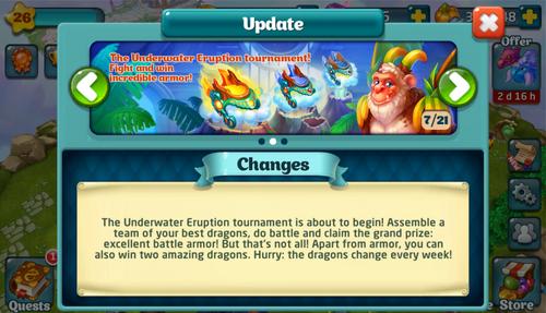 Tournament LXVIII Update
