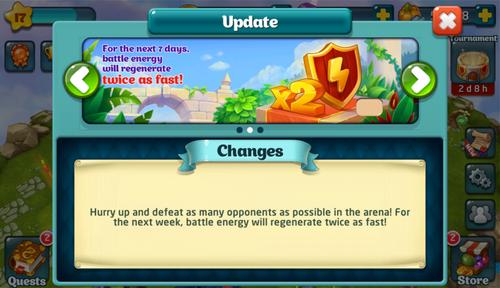 Battle Energy x2 Update