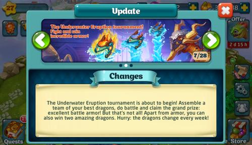 Tournament LXIX Update