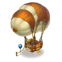 Hot Air Balloon with TetherDecor